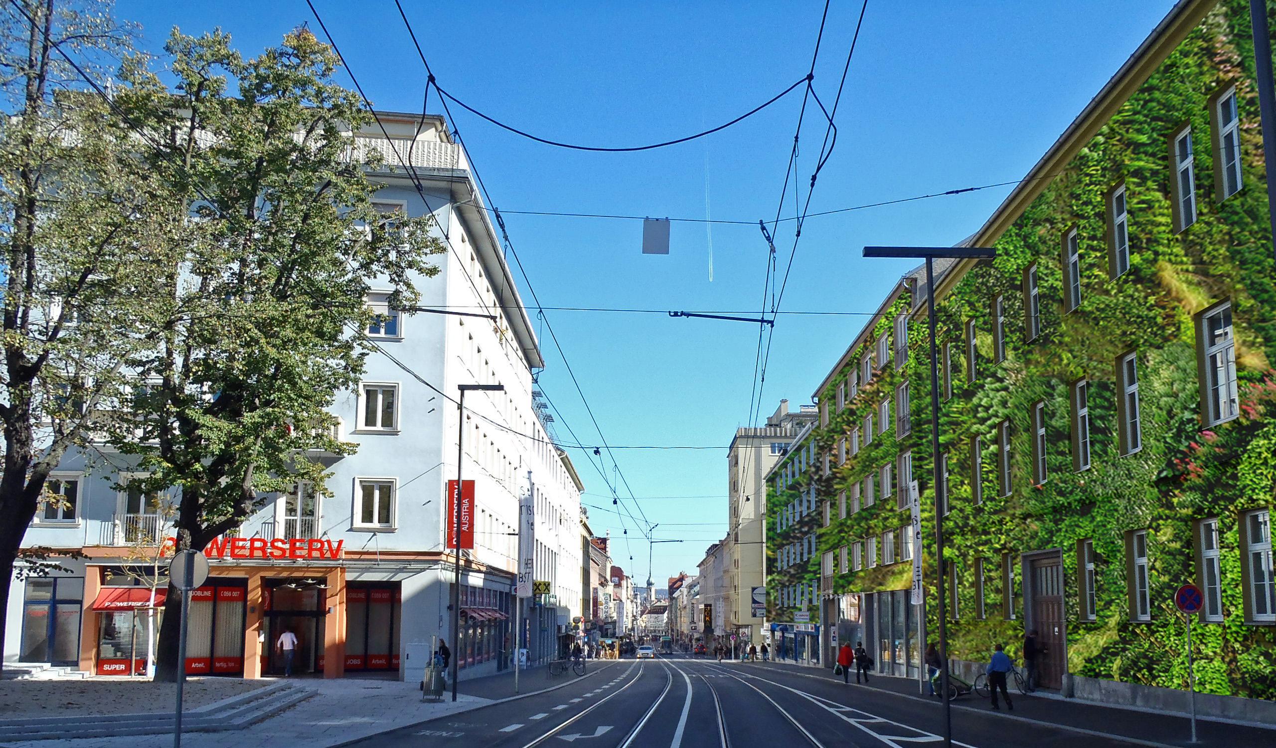 Häuserzeile Annenstraße, Graz (Headerfoto)