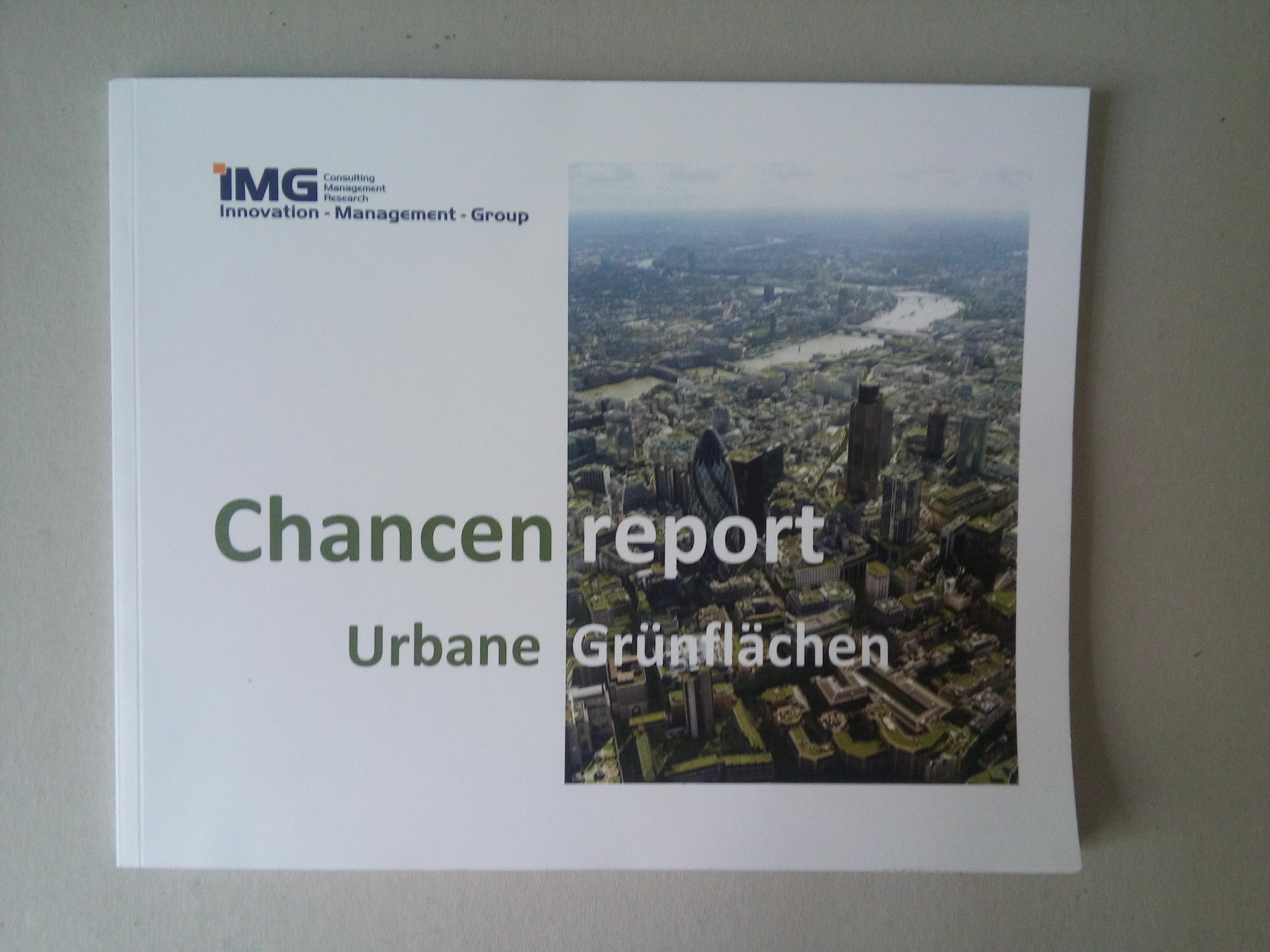 Report Urbane Grünflächen
